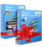 NoteBurner M4V Converter Plus Windows + Mac