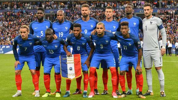 L'équipe de France de la Coupe du Monde de football 2018
