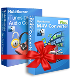 NoteBurner M4V Converter Plus + iTunes DRM Audio Converter